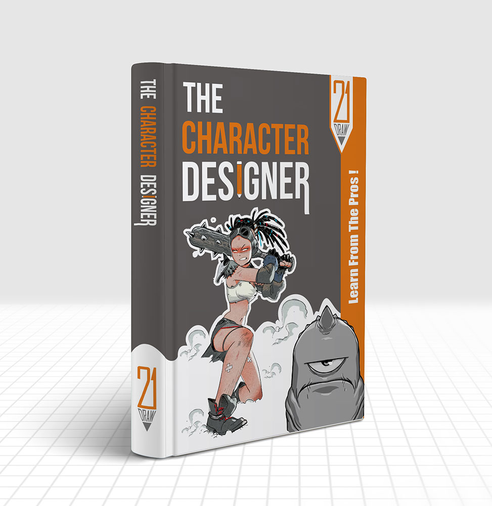 Questions about our new book The Character Designer? | 21 Draw